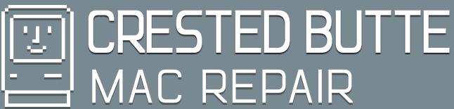 Crested Butte Mac Repair